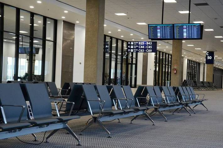 terminal na aerodromu