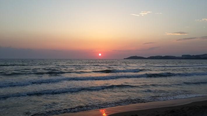 Kušadasi - plaža i zalazak sunca