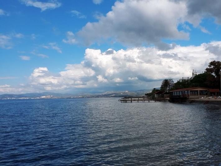 Turska Kušadasi - pogled na more
