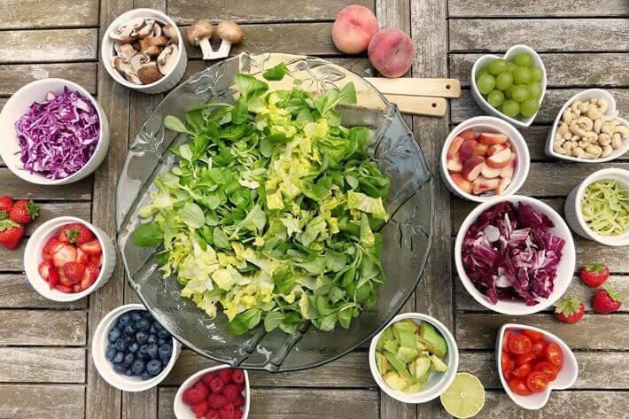 Letnji obrok salata