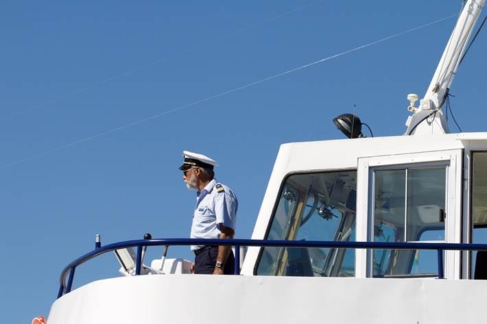 kapetan na brodu