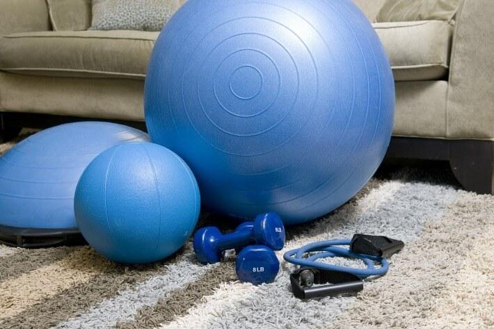 Fitnes oprema za trening kod kuće